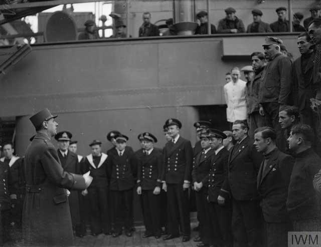 General de Gaulle, 9 January 1942 worldwartwo.filminspector.com