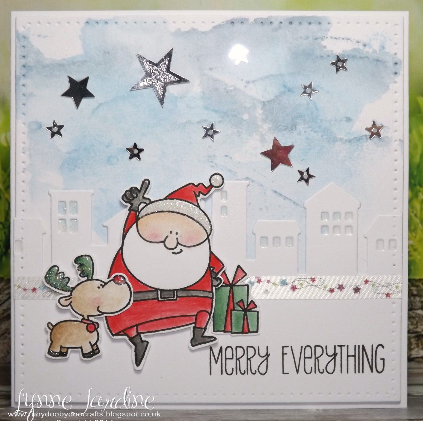 Ruby-Dooby-Doo Crafts: Getting into Christmas mode!