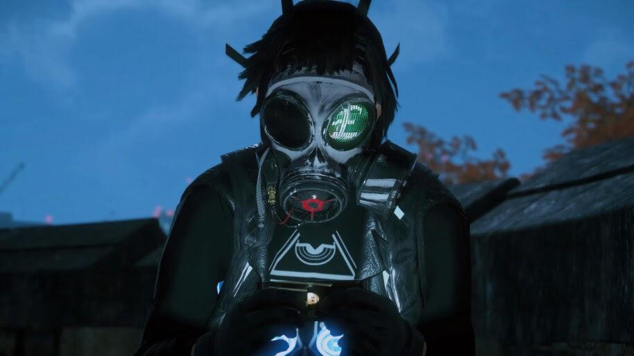 Watch Dogs Legion, Gas Mask, 4K, #7.2232