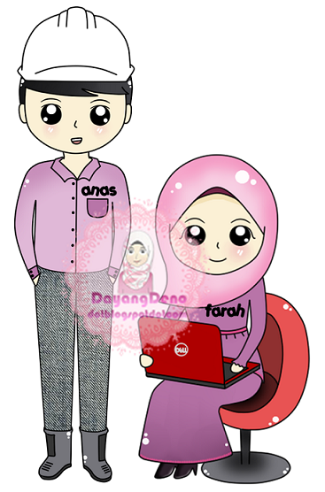 Tempahan : Doodle Couple