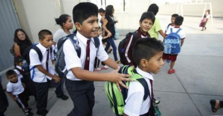 AÑO ESCOLAR 2019: Sepa cuál es la edad para matricular en inicial y primaria por disposición del Ministerio de Educación - MINEDU