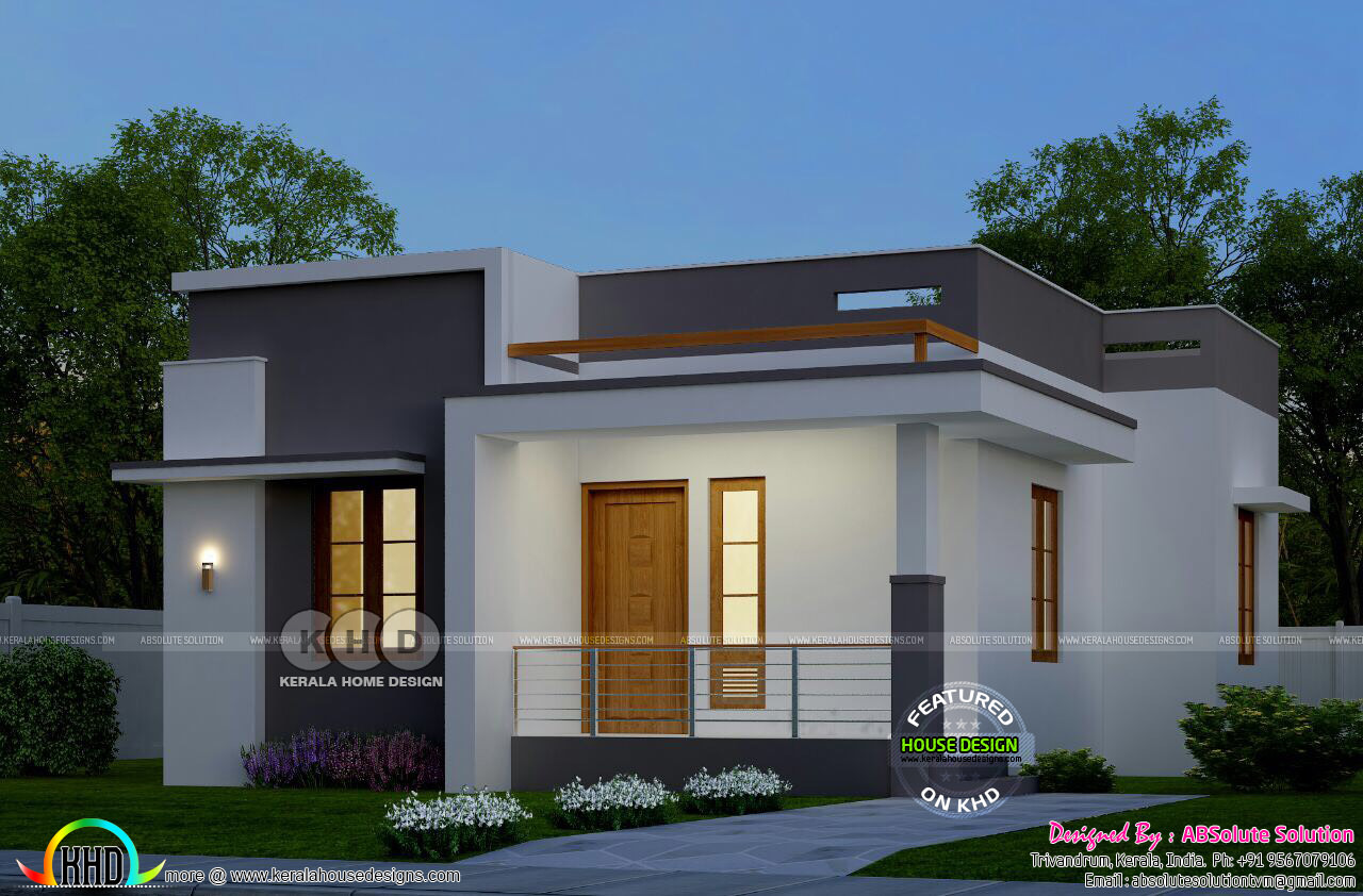 Low budget house cost under 10 lakhs kerala home design for Low budget home plans