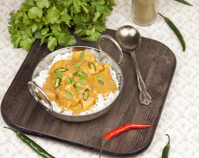 indyjskie curry z kurczaka