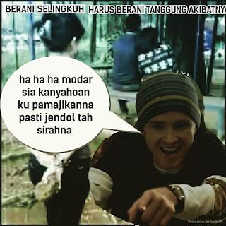 Meme lucu bahasa sunda