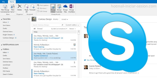 Skype desde Hotmail