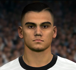 PES 2017 Faces Andreas Pereira by Sameh Momen