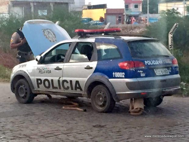 Viaturas caindo aos pedaços revelam fragilidade da segurança pública em Santa Cruz do Capibaribe