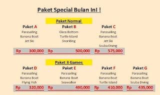 paket watersport murah Bali