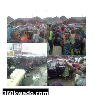 Wow!!!  Woman gives Birth in Traffic Gridlock.