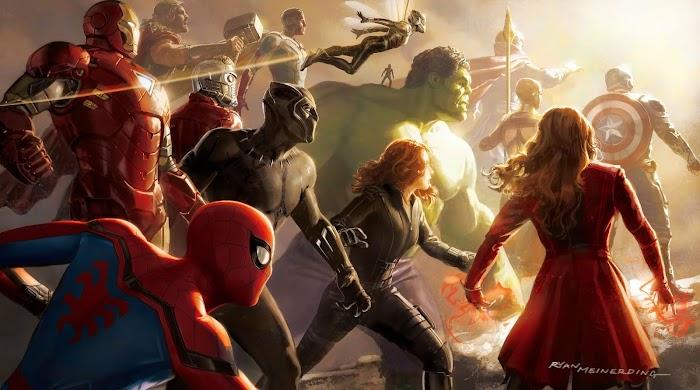 Marvel's Super Heroes HD Wallpapers-All Super Heroes 4K Wallaper
