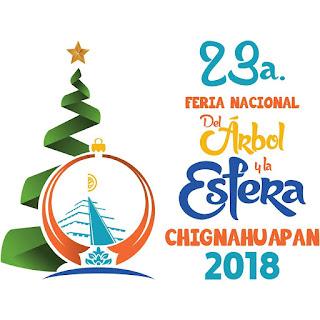 feria del árbol y la esfera chignahuapan 2018