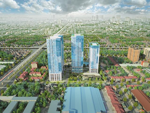 Tổng thể dự án GoldSeason Nguyễn Tuân