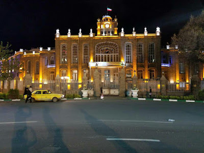Clock tower, also known as Tabriz Municipality Palace probably is the most important monument of Tabriz city. Since Clock Tower is located in the center of the city, it has been used for various ceremonies and gatherings in the city.