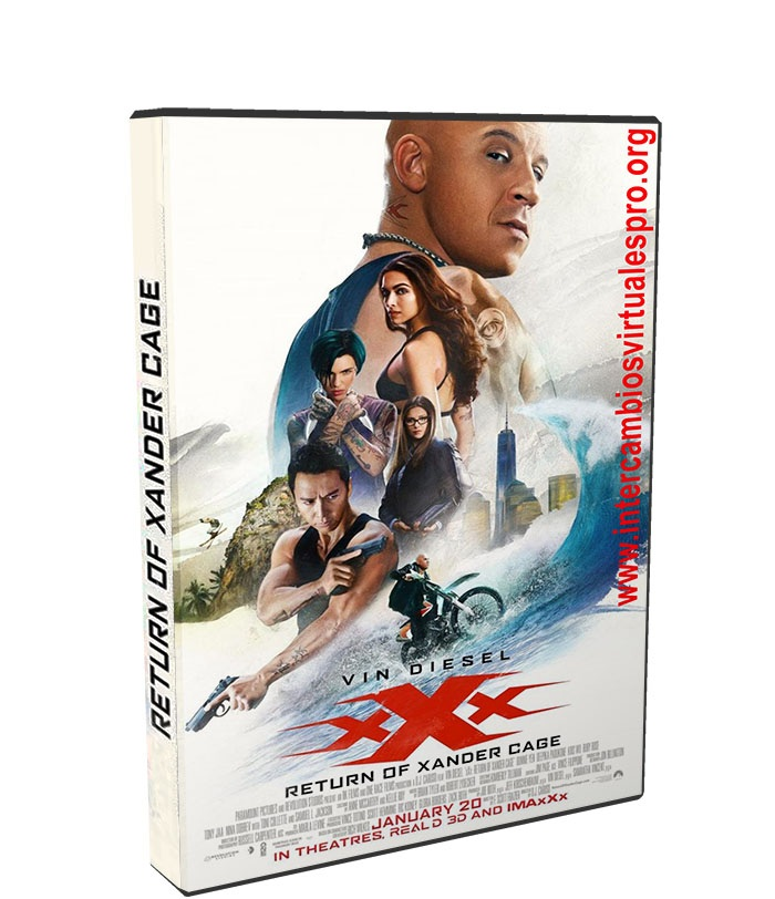 xXx: Reactivado poster box cover