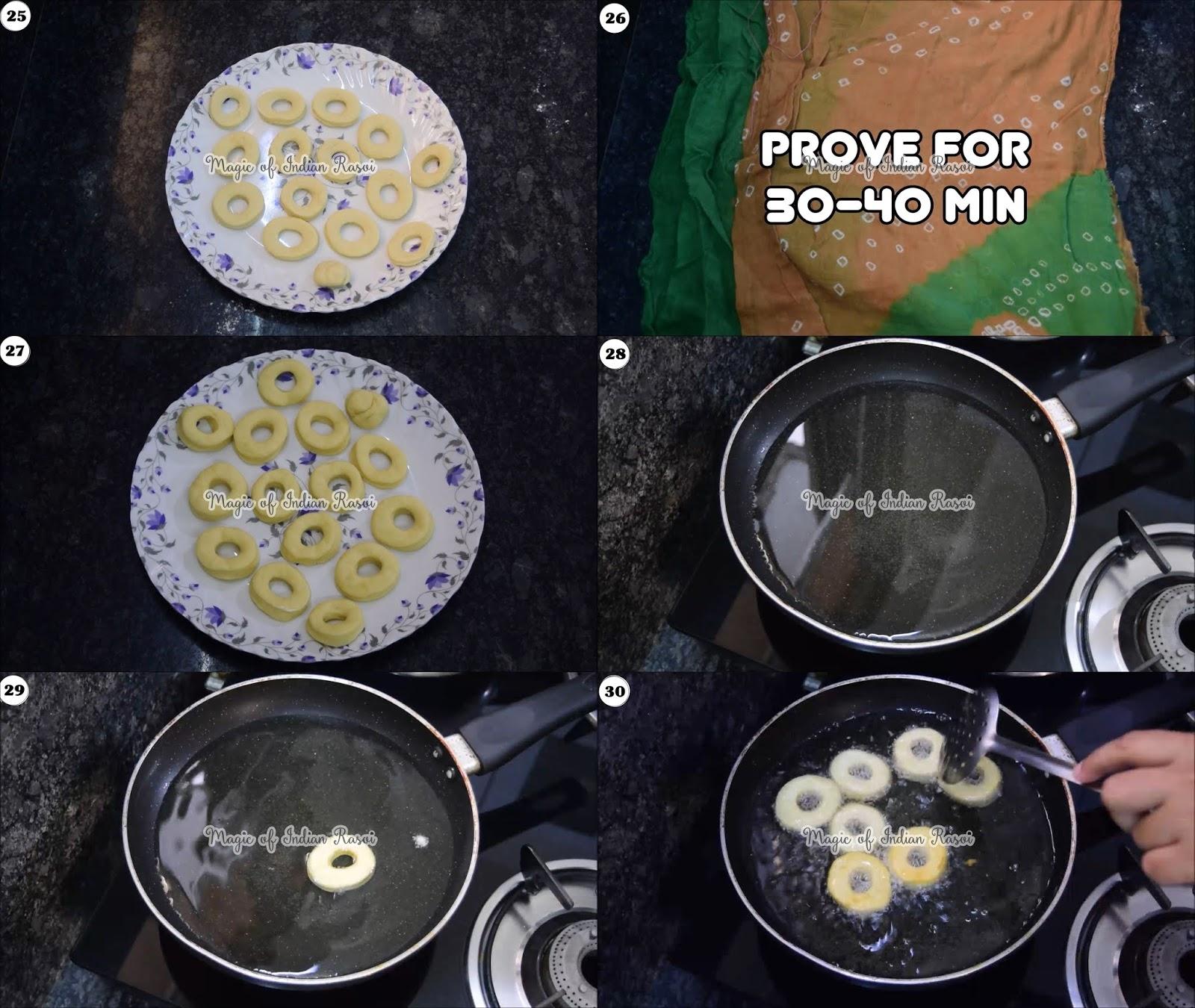 Eggless Donuts Recipe (Soft & Spongy) - 6