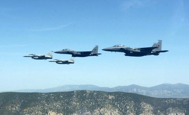 Εικονικός βομβαρδισμός ελληνικών νησιών από τουρκικά μαχητικά