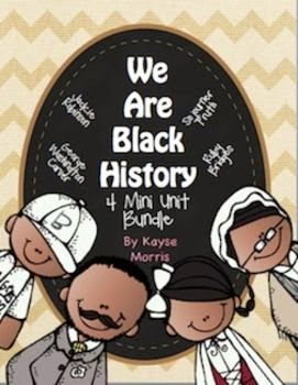 We are Black History Mini Unit Bundle