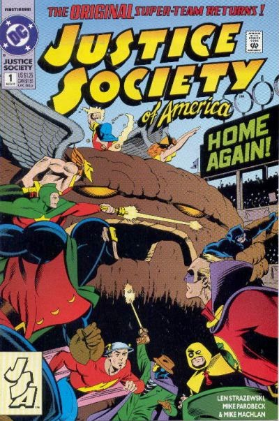Justice Society of America #1