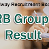 RRB Group D Result 2019 ~Latest Update~  Railway Group D Result 2018-19 CEN 02/2018 CBT Result, Answer Key, Cut Off marks