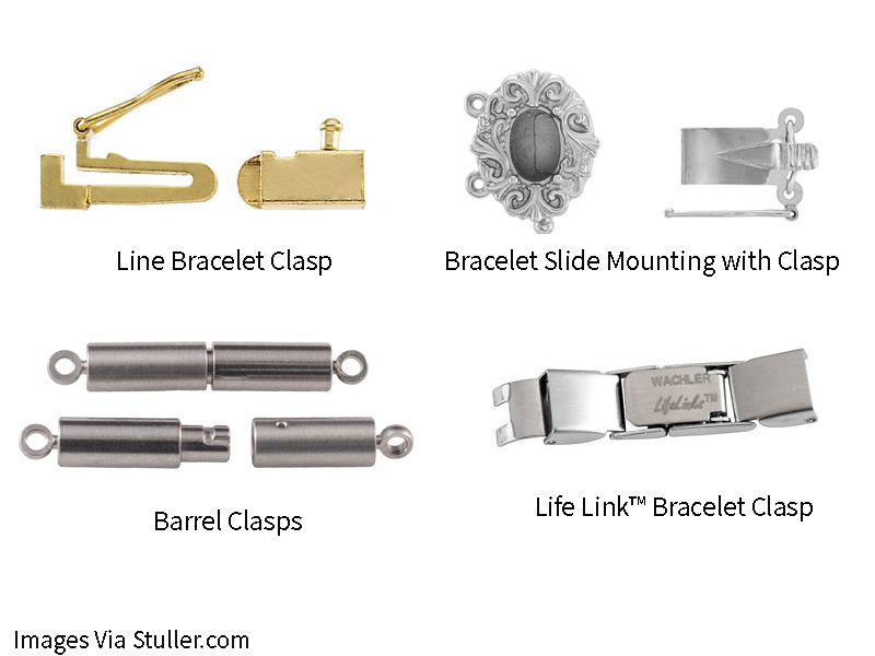 Bracelet Secure Clasps