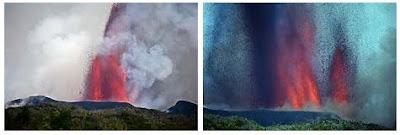 Nyamuragia volcan