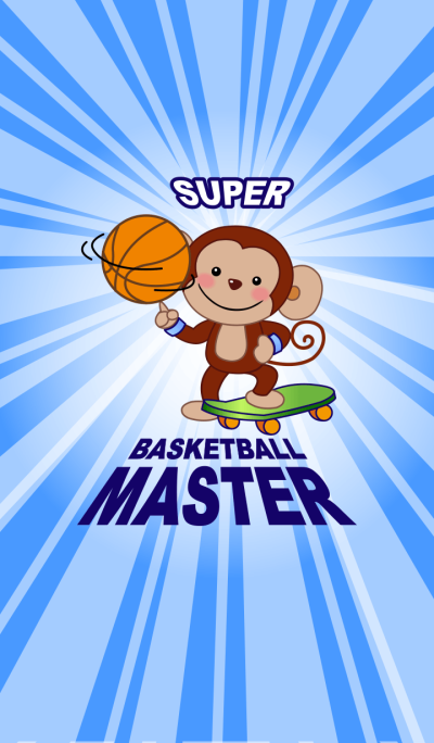 Smiling Monkey~Basketball Master-2