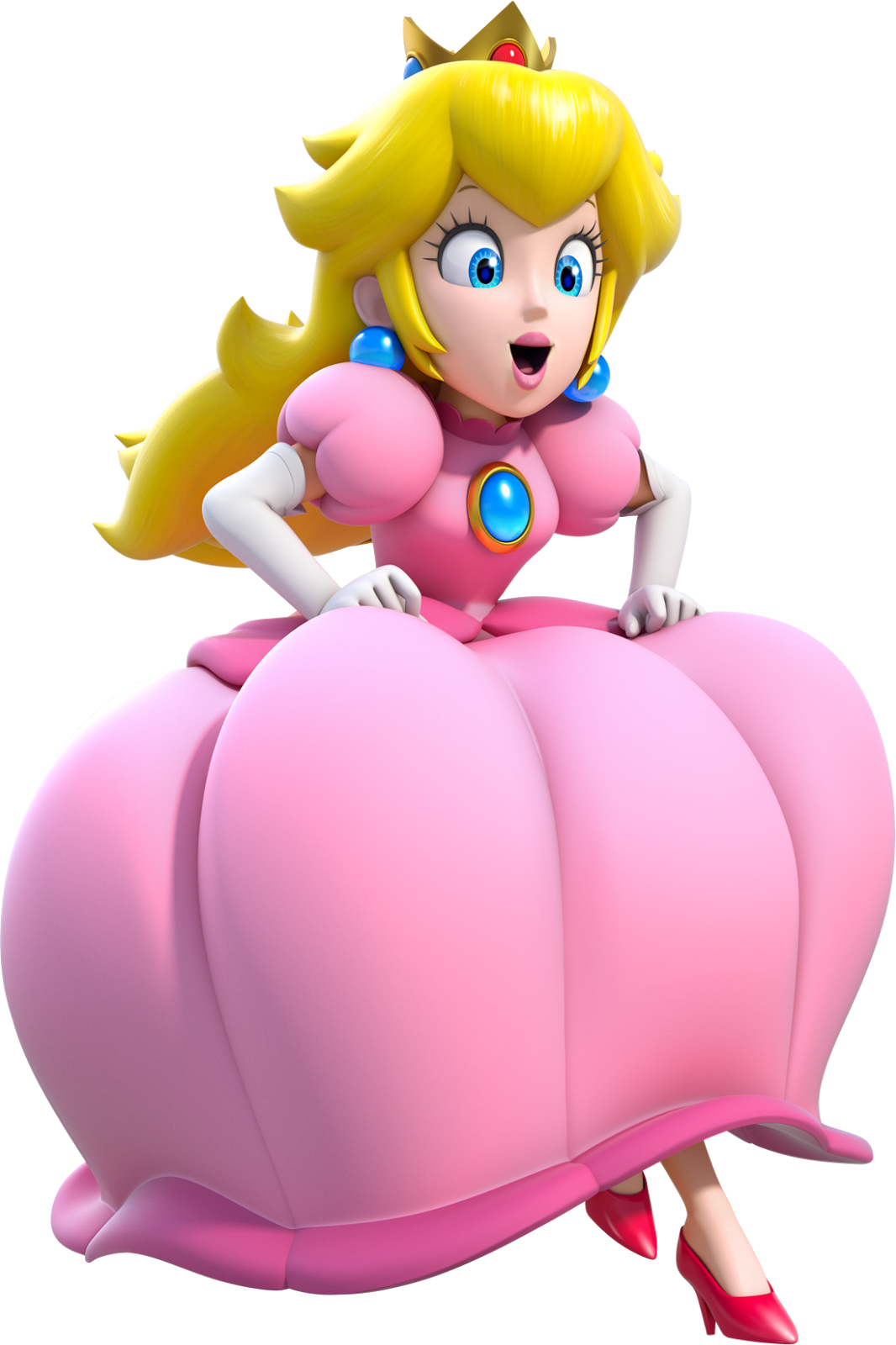 Princess peach footjob