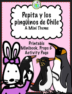 Penguins of Chile Spanish Activity Pack