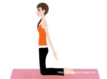 吸氣,慢慢盡力往後抬起雙臂,直至您的最大程度,堅持5秒(如圖2)。呼氣,再慢慢放下雙手。重復5-10次;