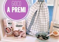 Logo Vinci gratis borsa in stile kitchen couture Label Palla Vienna piena di prodotti Verival