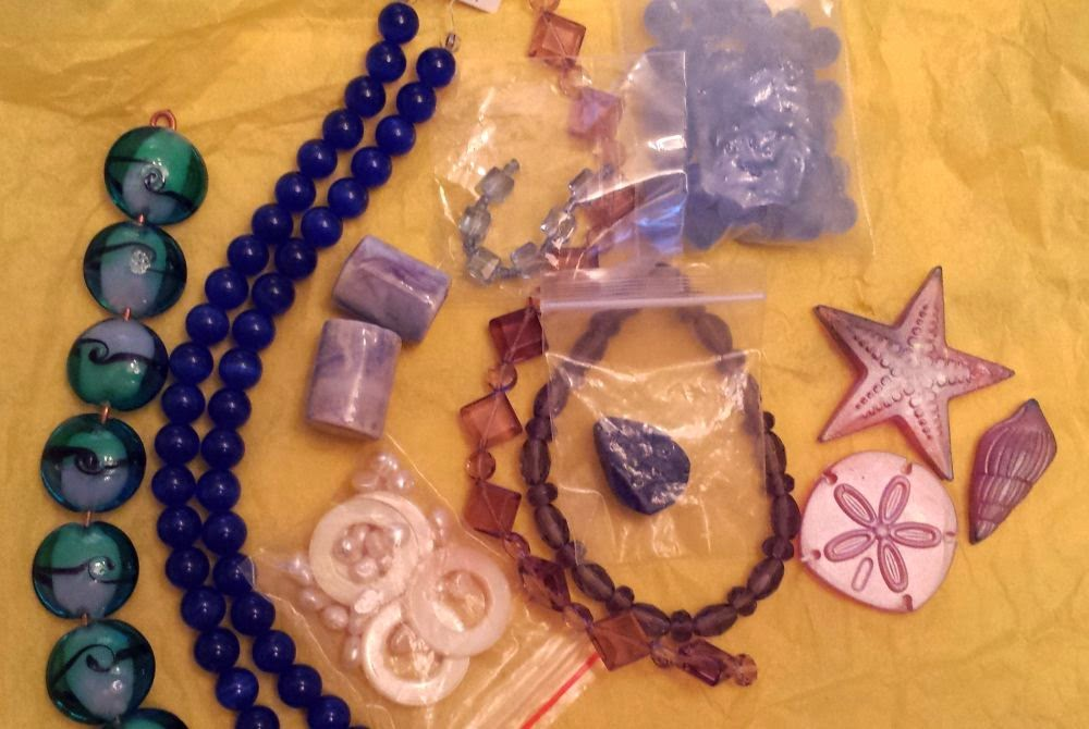 Beed Peeps Swap 'n Hop, May 2 reveal ~ glass, shell, ceramic, crystal :: All Pretty Things
