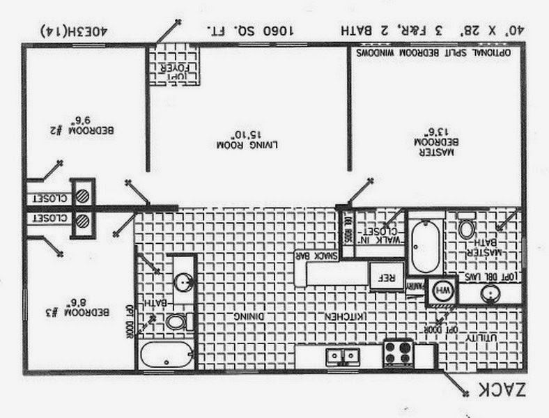 Double wide mobile home floor plans florida homemade ftempo for Mobile home floor plans florida