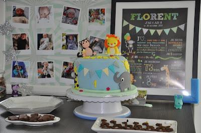 gateau-anniversaire-petit-garcon-safari-animaux