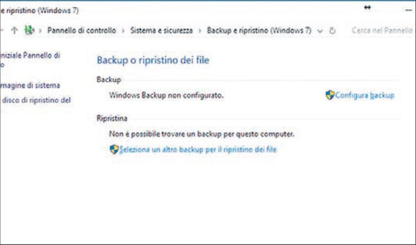 Come fare il backup di Windows 10