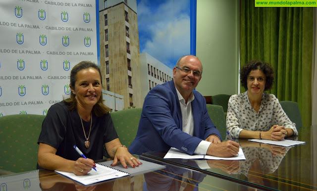 El Cabildo y Niños Especiales de La Palma cooperan en la gestión de plazas del Centro de Día y en el proyecto 'Estamos contigo'