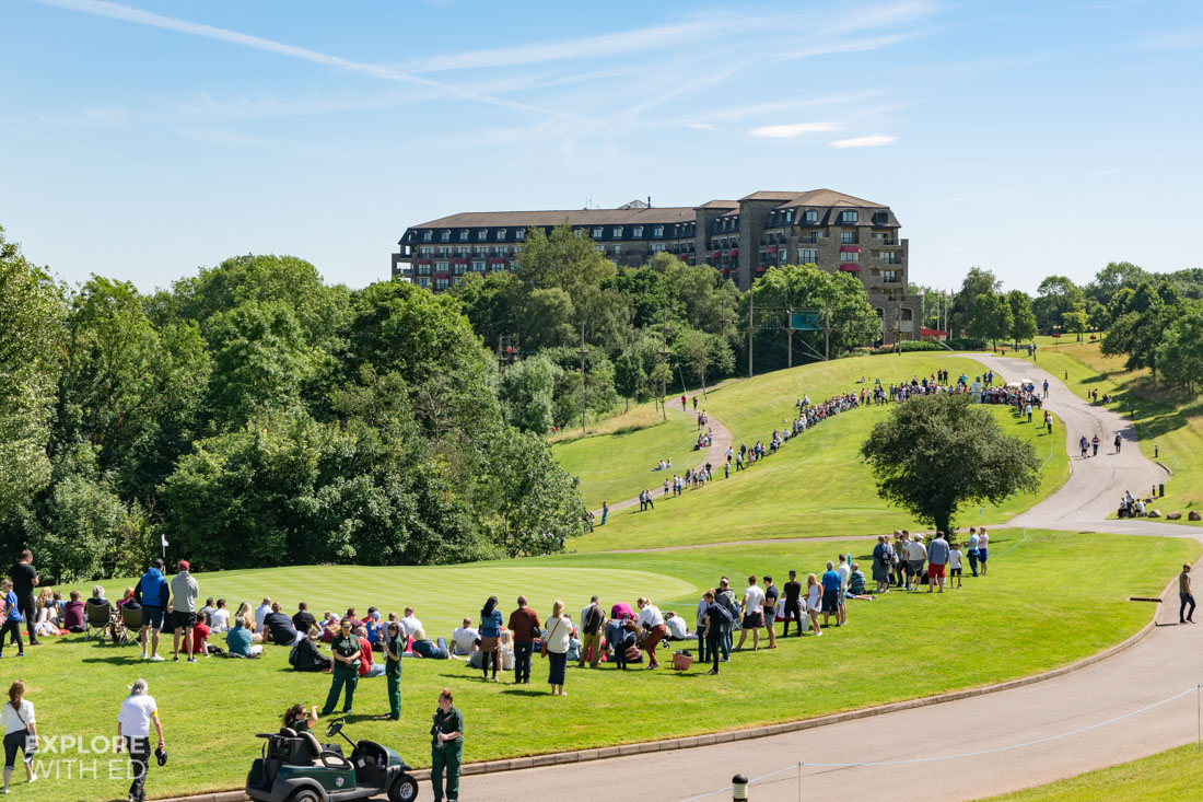 The Celebrity Cup Event at The Celtic Manor Resort in Newport South Wales