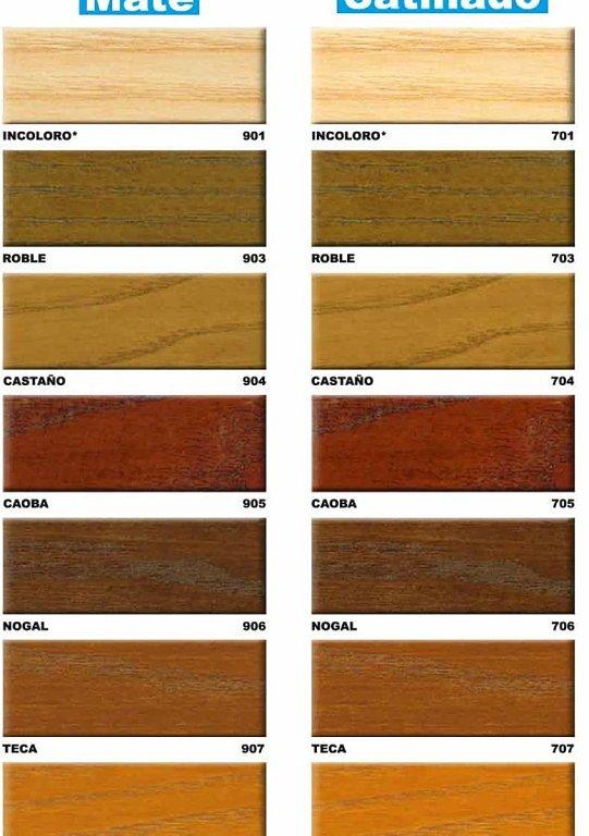 Dise o fabricaci n y montaje de estructuras de madera - Barniz para madera colores ...