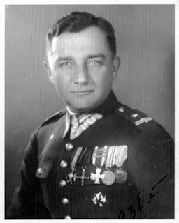 Major Henryk Dobrzański - Wilno 1938 r.