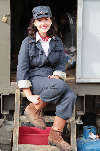 Vintage days out, Salute to the '40's at The Historic Dockyard Chatham