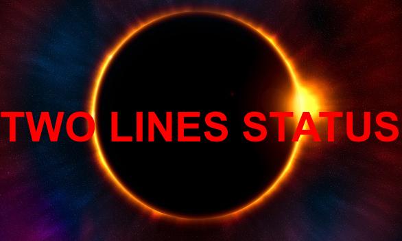 whatsappstatus: Two line status in english 2018