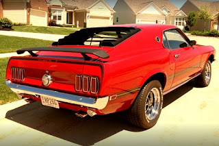 1969 Ford Mustang Mach 1 Rear Right