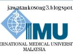 Jawatan Kosong IMU Education Sdn Bhd 29 April 2016