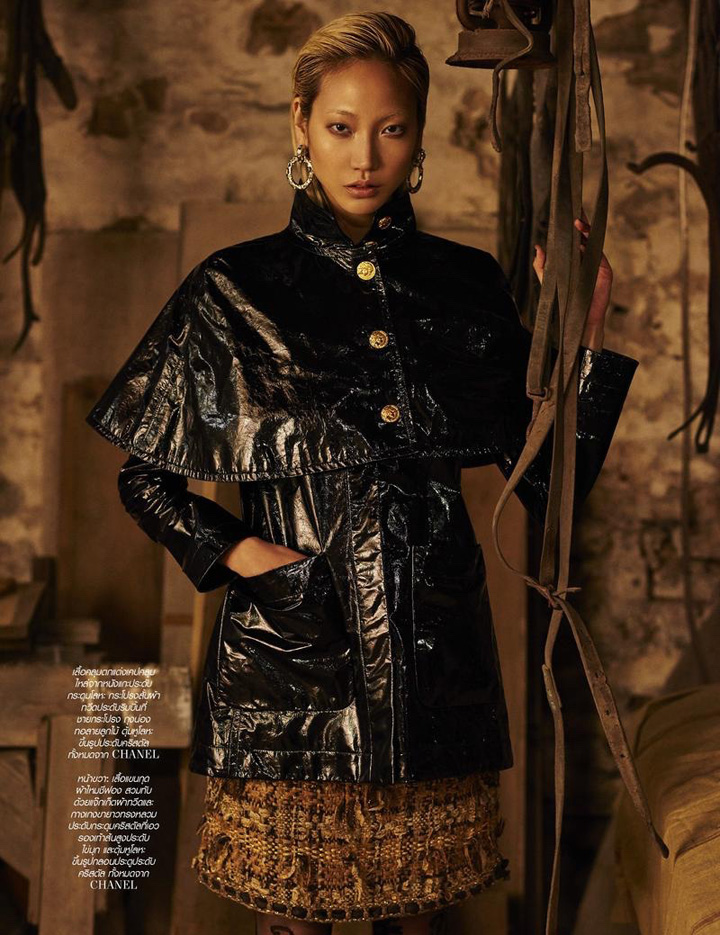 03cb5ab30e4 Luxury Purse Sale  Supermodel Soo Joo Park interpretation of Chanel ...