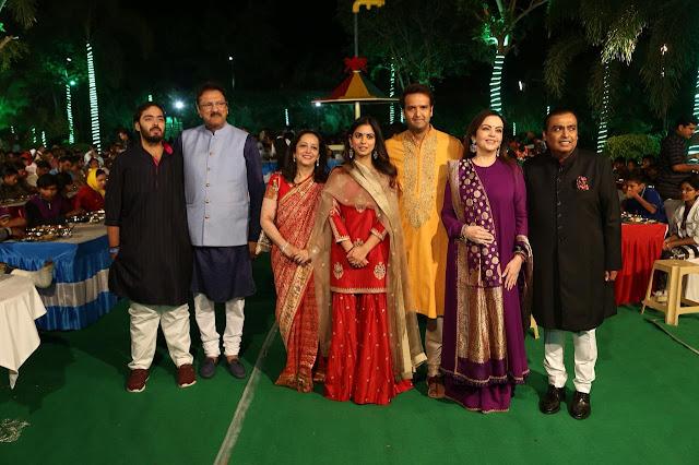 Mukesh Ambani Daughter Isha Ambani Pre Wedding Ceremony Latest Photos