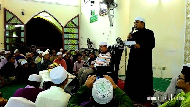 Ustaz Kazim Elias di Masjid Bandar Tasik Puteri, Rawang