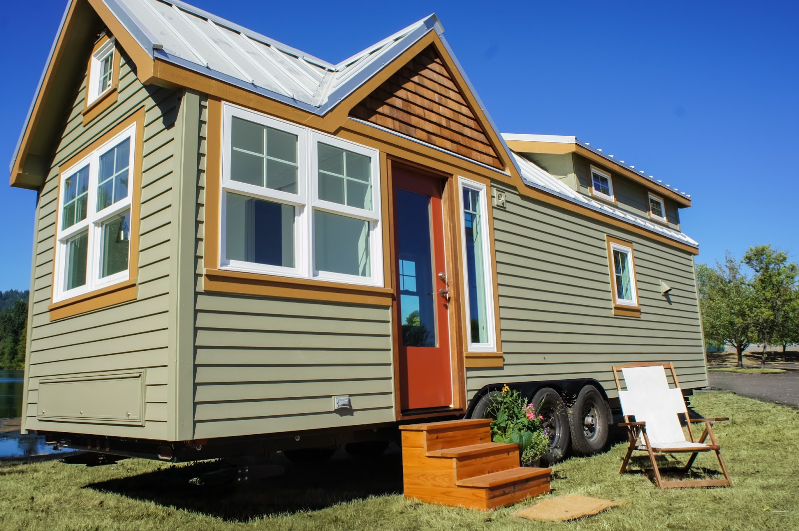Tiny House Town Tess From Truform Tiny Homes 328 Sq Ft
