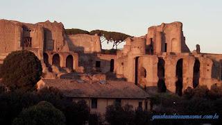 palatino palacios imperadores guia brasileira - Roma Antiga I - A Idade do Ferro