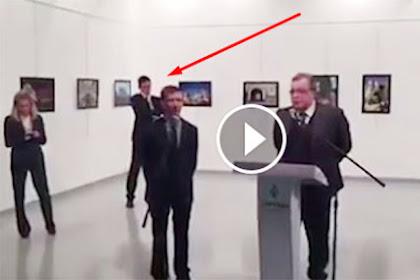 BREAKING NEWS: Video Terbaru Penembakan Dubes Rusia Dari Sudut Pandang Yang Berbeda