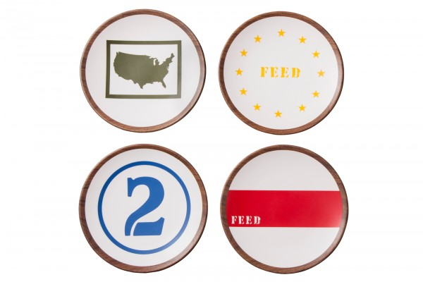 FEED USA + Target appetizer plates