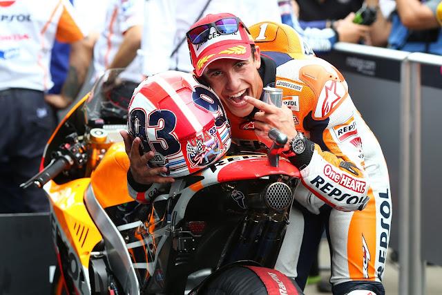 5 Resep Berjaya di MotoGP ala Marc Marquez